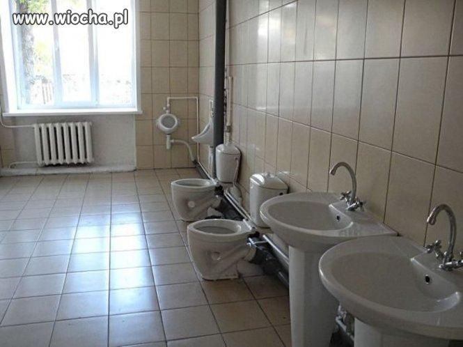 Tymczasem w toalecie
