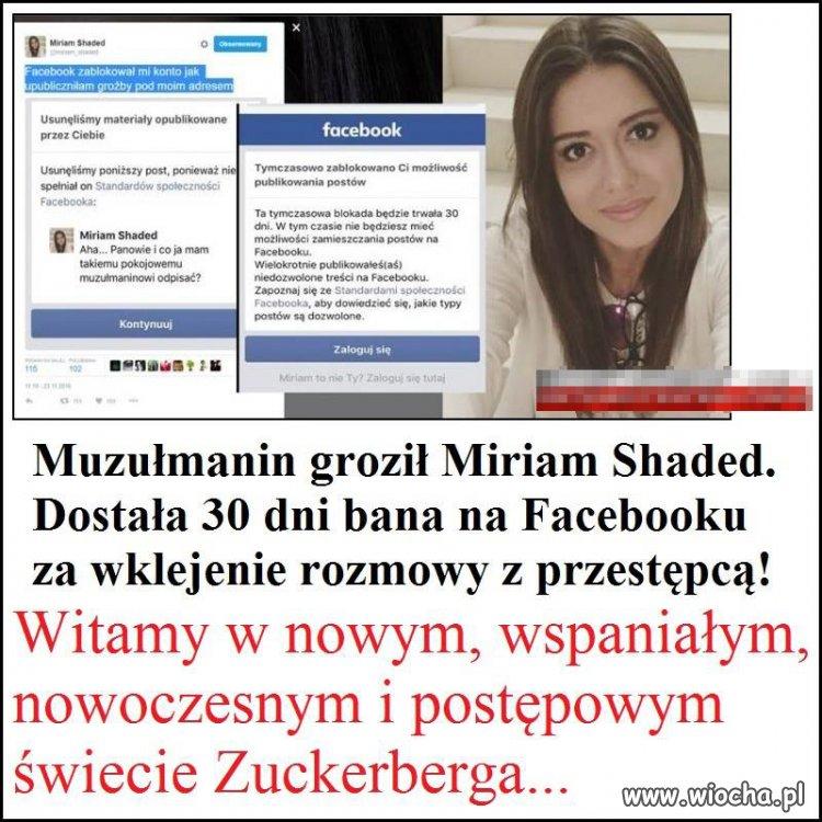 Wolność słowa na Facebooku...
