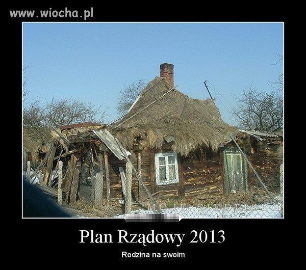 Plan Rządowy 2013
