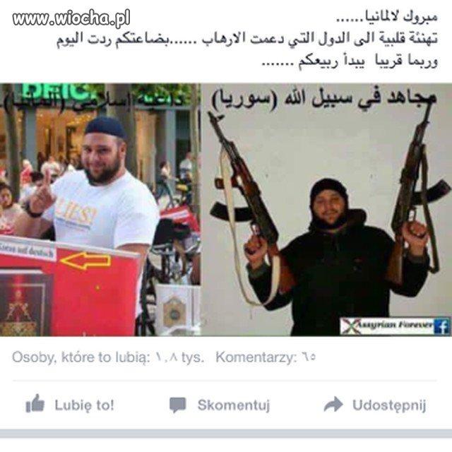 Ghaze Abdulloh z Syrii mieszka w Polsce i...