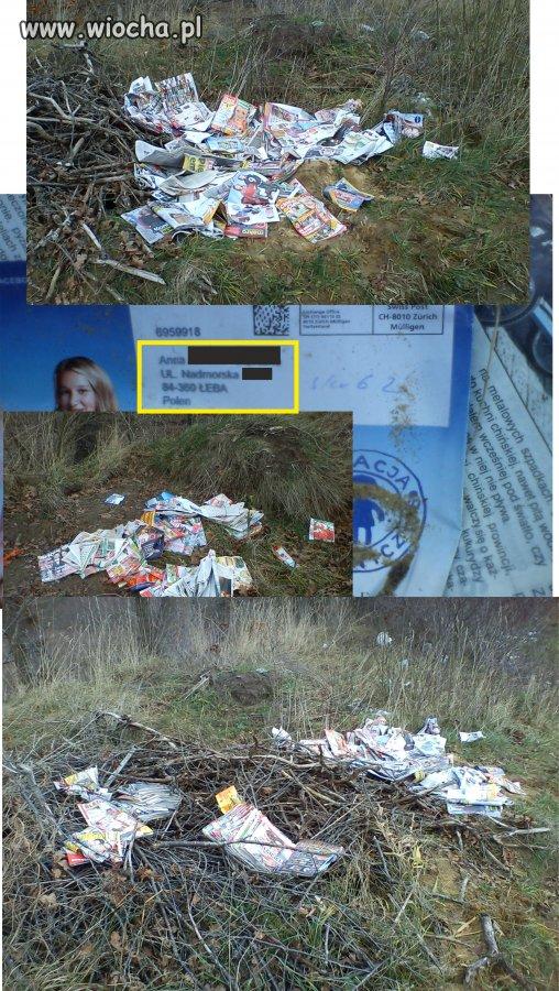 """""""Anonimowe"""" śmieci"""