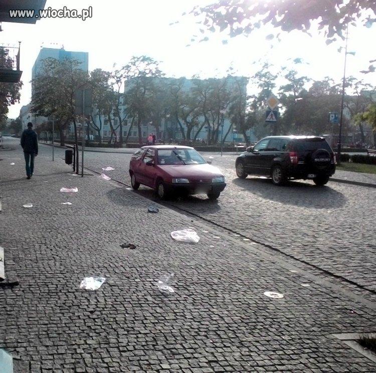 Włocławek widok na Urząd Miasta