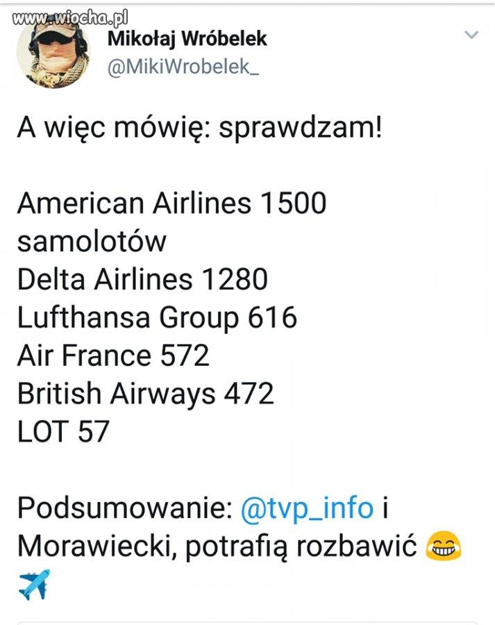 Polska grupa lotnicza rzuca wyzwanie ...