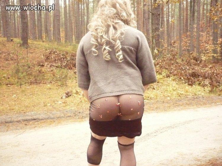 Idealny strój, na spacery po lesie.