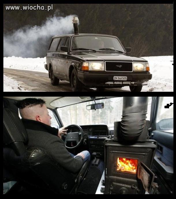 Patent na ogrzewanie w samochodzie...