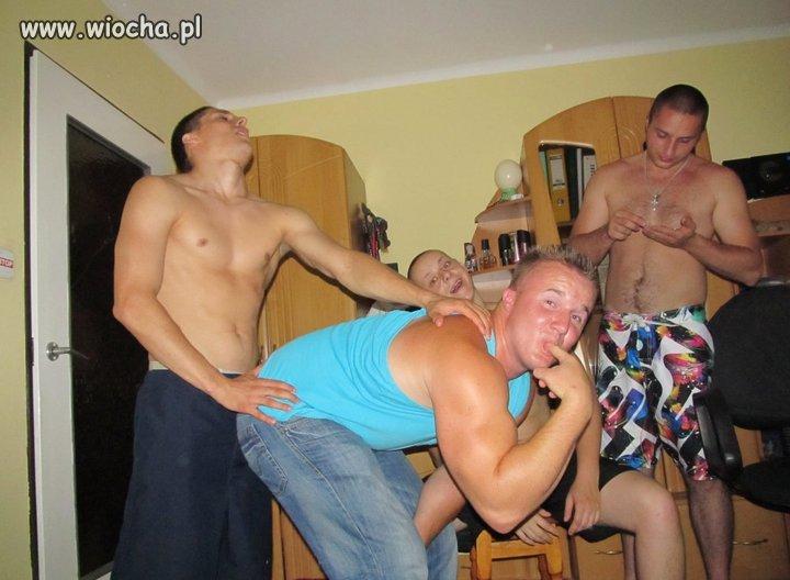 Zabawy w gronie męskim