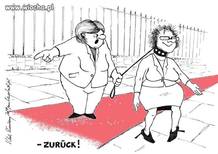 Ewa kopacz w Berlinie