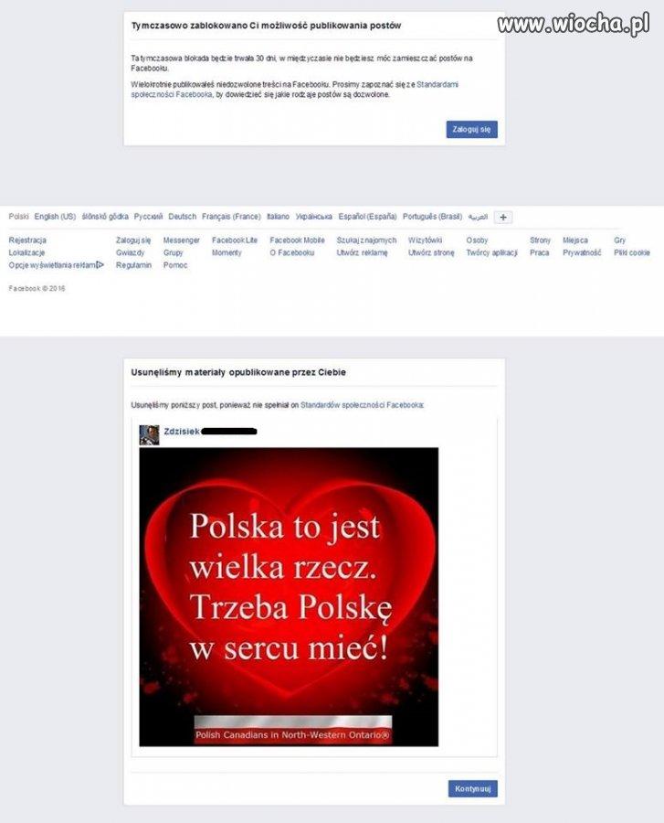 Facebook oszalał.