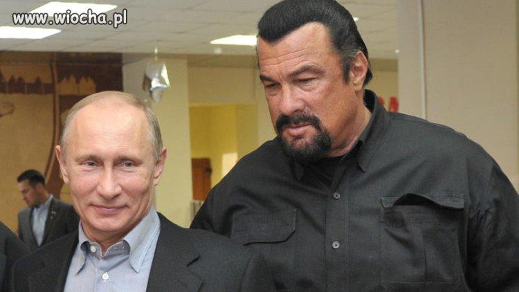 Putin znalazł sobie nową maskotkę...