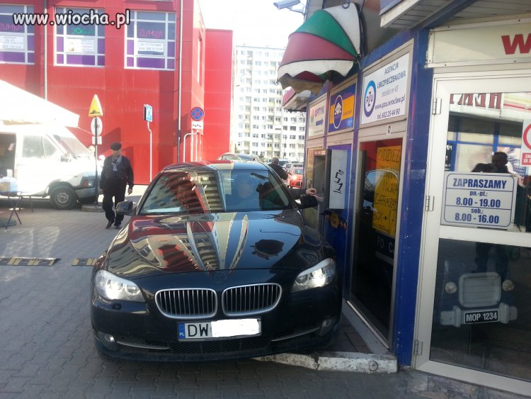 Buractwo z BMW