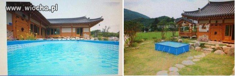 Dom z basenem na sprzedaż.