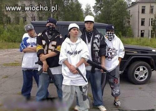Gangsterzy jakich ma�o