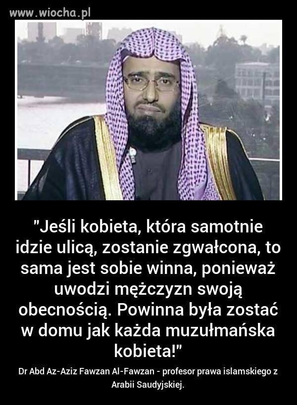 Muslimy i ich chore prawo.