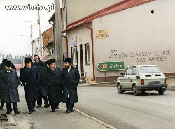 Od żydów zarazy ochroń nas panie !