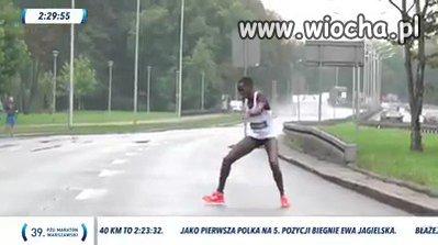 Maraton Warszawski-organizatorzy rasiści, bo nie..