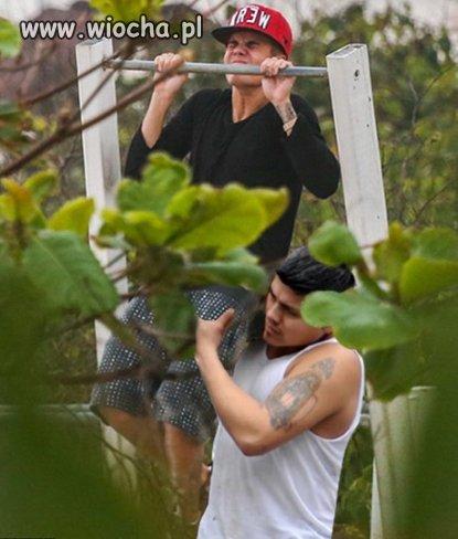 Justin Bieber zaczął ćwiczyć