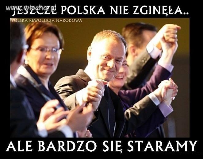 A my POLACY się wam nie damy!!!