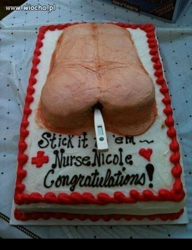 Rozumiem tort penis lub tort wagina