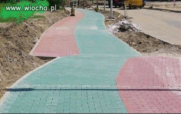 Zielony do zielonego,... a czerwony do...??!!!