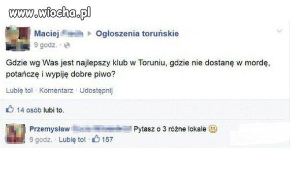 Klub w Toruniu