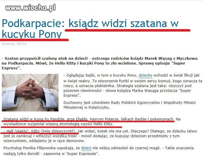 Szatan je�dzi na ...kucyku Pony!!!
