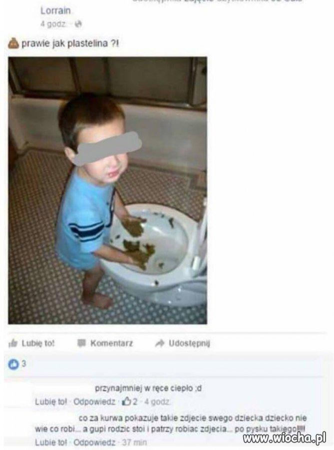 Wiocha dla rodziców, ze takie foty wrzucają w neta