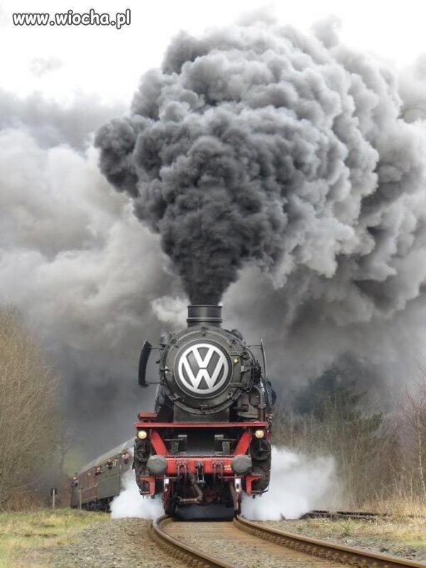 Ekologiczny volkswagen.
