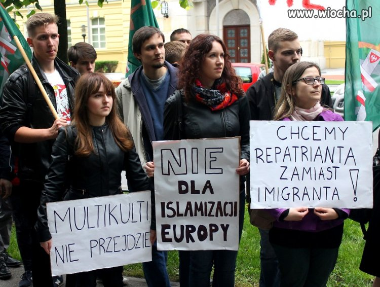 """Chcemy repatrianta, zamiast imigranta"""