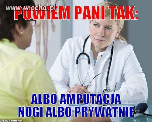 Polska s�u�ba zdrowia