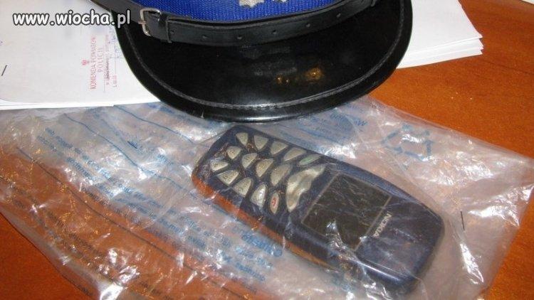 Skradziona Nokia 3510 odzyskana przez Policję