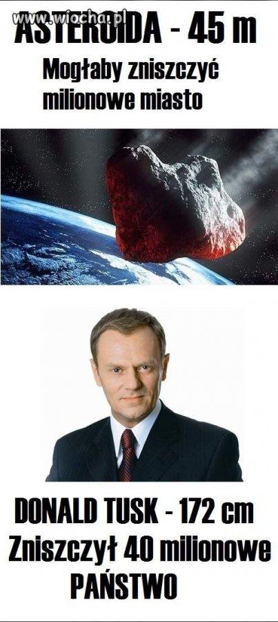 """My mamy swoją """"asteroidę"""""""