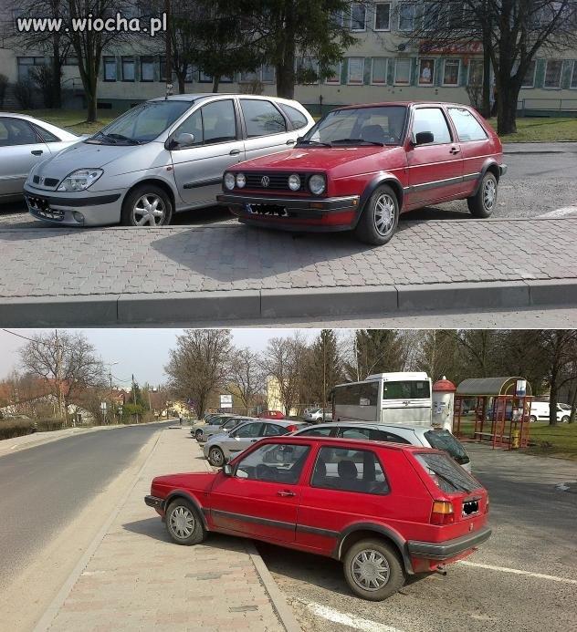 Moim zdaniem takie parkowanie