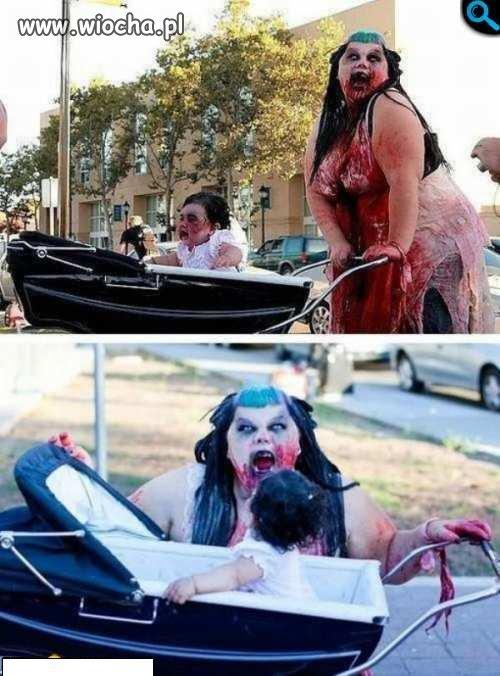 Przebranie na halloween