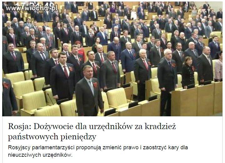 """W Polsce to nie przejdzie. """"Nasz"""" rząd , popiera"""