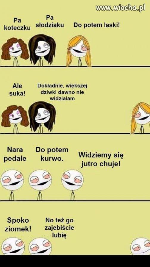 Kobiety i faceci.