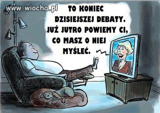 Wyłącz telewizor