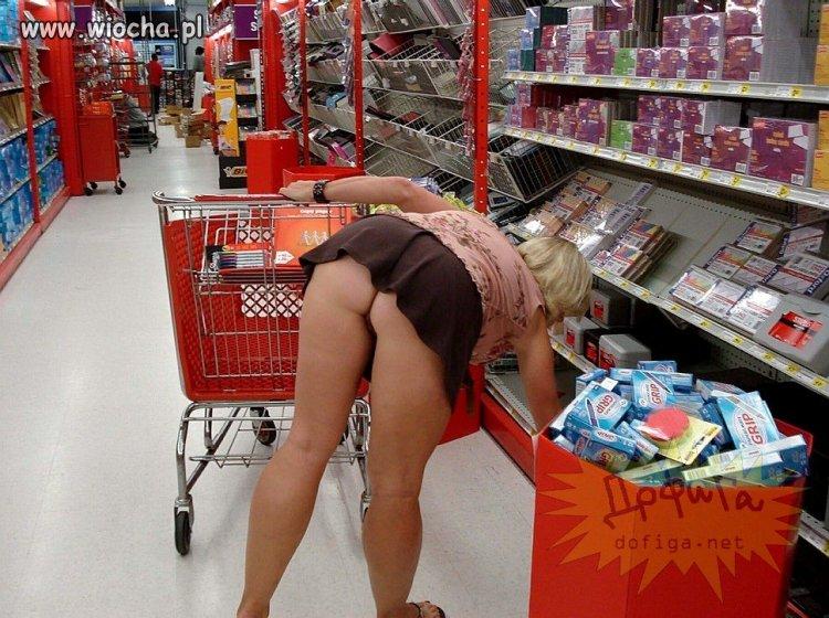Na zakupach w markecie