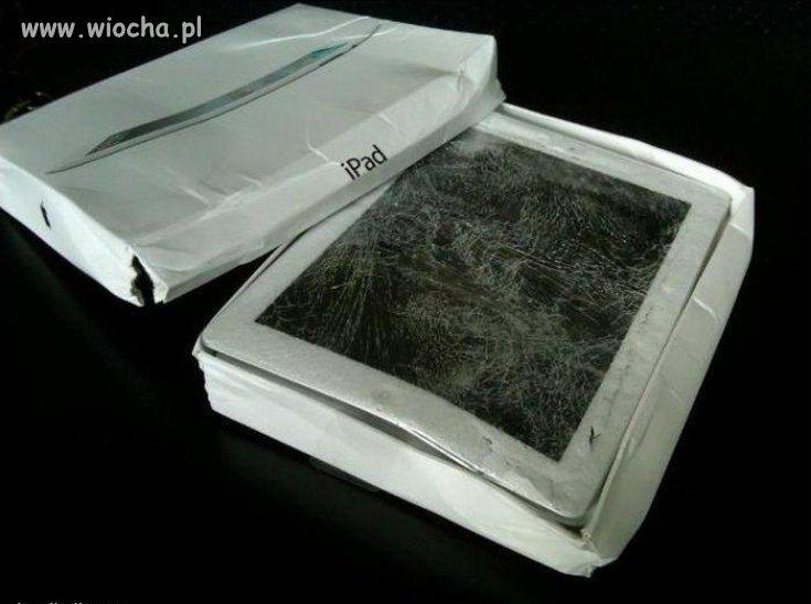 ... i przyszedł iPad firmą kurierską DHL
