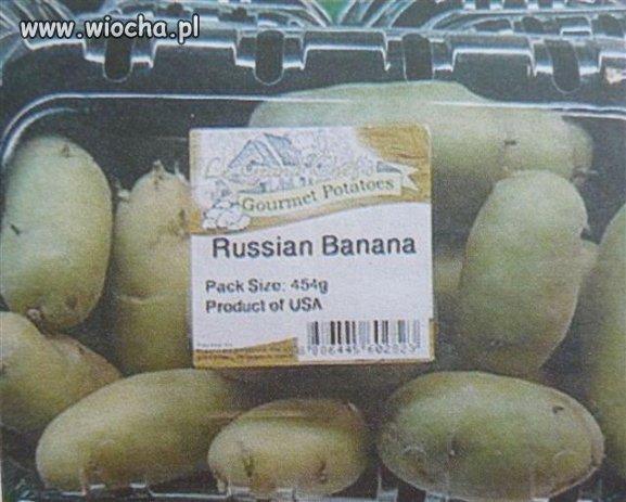 Rosyjskie banany.