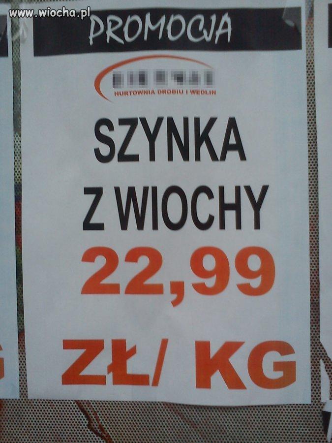 Szynka z Wiochy.