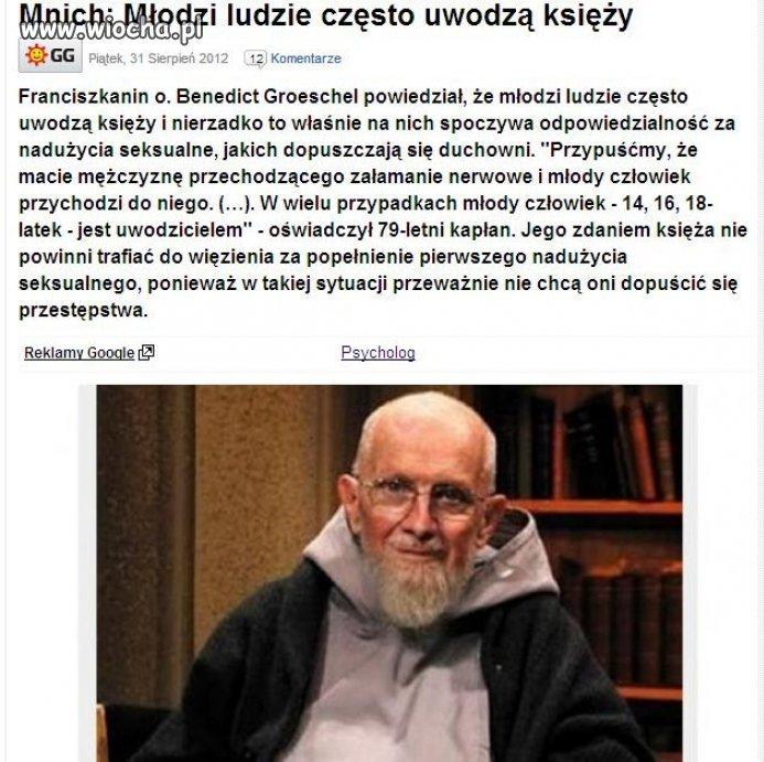 Księża jak zwykle niewinni ...
