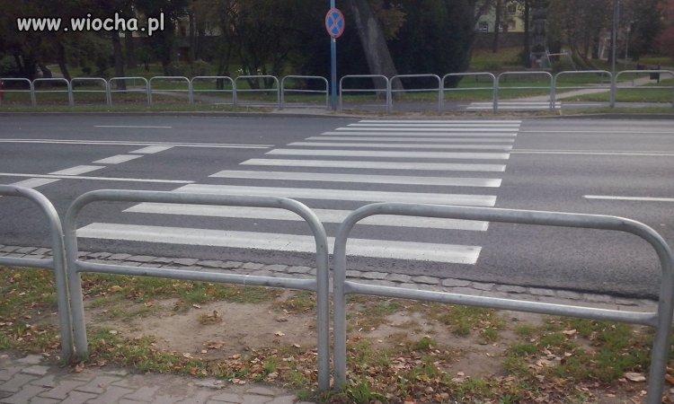 Lubińskie przejście dla pieszych