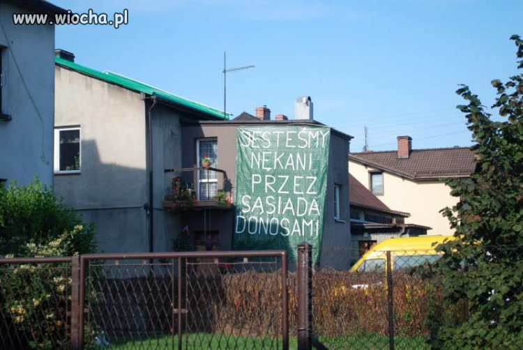 Taki sąsiad...