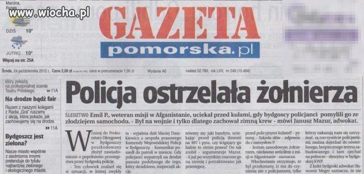 Wiocha w bydgoskiej prokuraturze!!