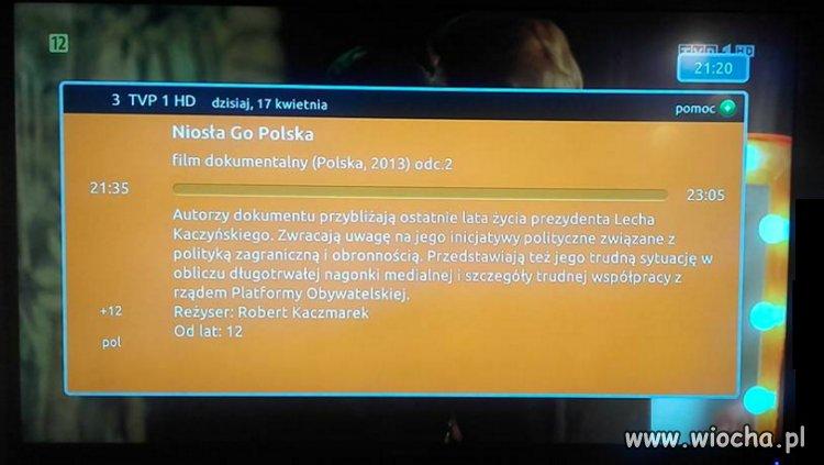 TVPpis ciężkie życie Lecha Kaczyńskiego