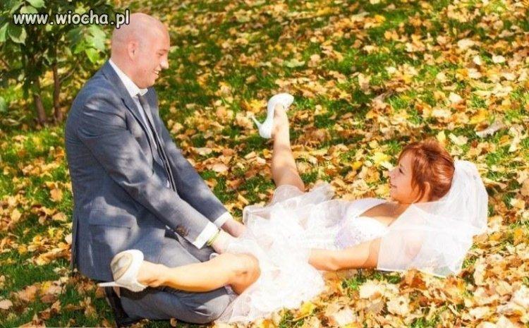 Sesja ślubna dla potomnych