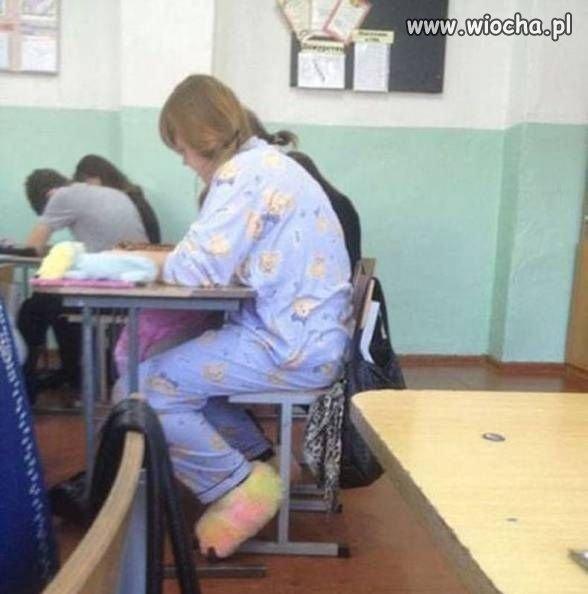 Gdy spóźnisz się do szkoły