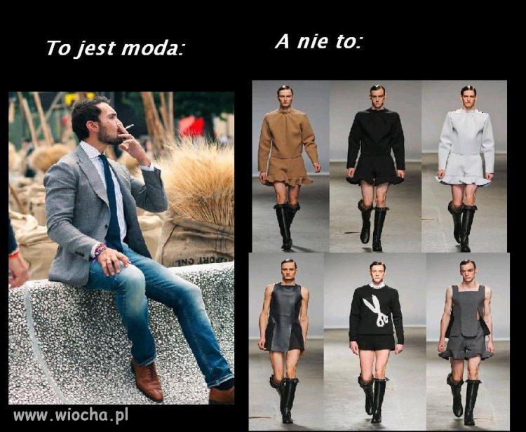 Moda XXI w. I nie wiesz, czy to jakieś żarty,