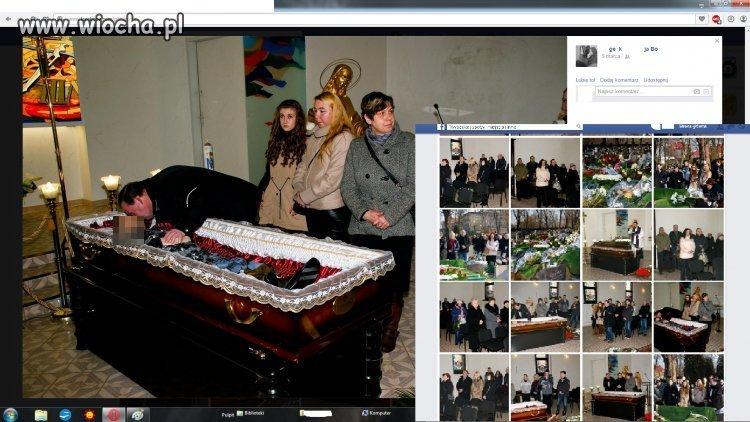 Zdjęcia z pogrzebu muszą być.