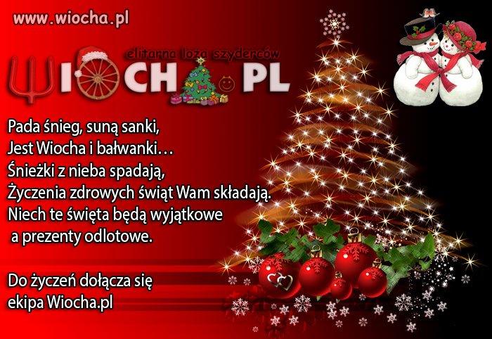Zdrowych, wesołych i spokojnych Świąt!
